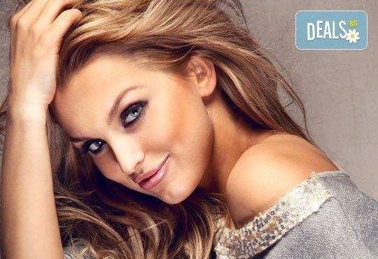 Освежете косата с нови цветни нюанси! Боядисване с боя Farma Vita и оформяне на прическа със сешоар от ADI'S Beauty & SPA! - Снимка 1