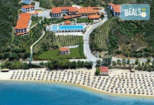 Слънце, узо и море с лятна почивка в Akrathos Beach Hotel 3*+ Халкидики, Гърция! 3/4/5/ нощувки на база All inclusive! - Снимка 2
