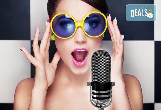Индивидуални уроци по поп, джаз или класическо пеене, еднократно или за един месец в Студио Да, Варна! - Снимка 1