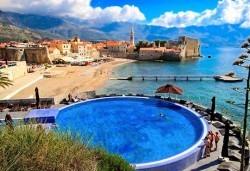 Юни/септември на Будванската ривиера, Черна гора: 7 нощувки, закуски и вечери, транспорт