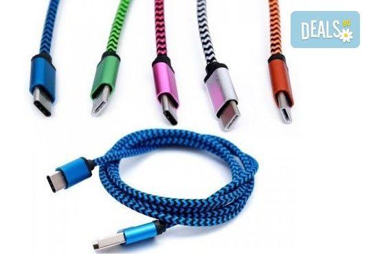 Дръжте необходимия аксесоар наблизо! Висококачествено алуминиево зарядно за автомобил и кабел за Apple или Android от Деоро! - Снимка 1