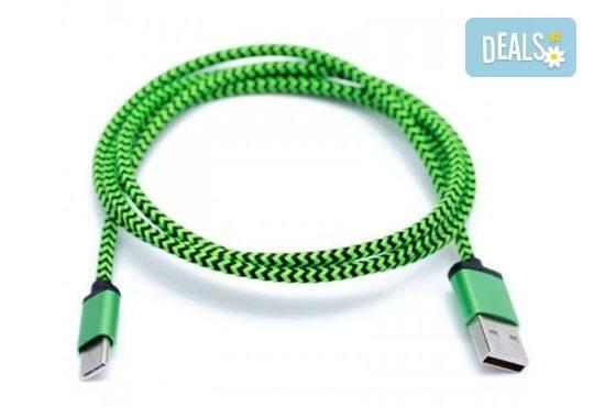 Дръжте необходимия аксесоар наблизо! Висококачествено алуминиево зарядно за автомобил и кабел за Apple или Android от Деоро! - Снимка 5