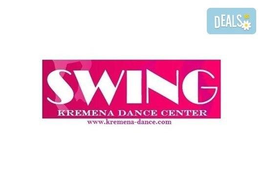 Забавлявайте се с приятели! Влезте в ритъма на танца с 4 посещения по суинг танци в Kremena Dance Center! - Снимка 2
