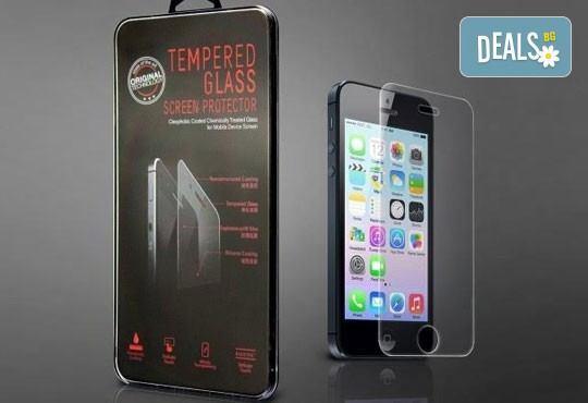 Защитете телефона си! Скрийн протектор от закалено стъкло за iPhone 6, iPhone 6 Plus или Samsung Galaxy S6 от Деоро! - Снимка 1