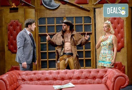 Гледайте най-новия спектакъл на Театрална къща Viva Arte - Опасно за живота, на 21.04. от 19ч, Театър Сълза и Смях - Снимка 6