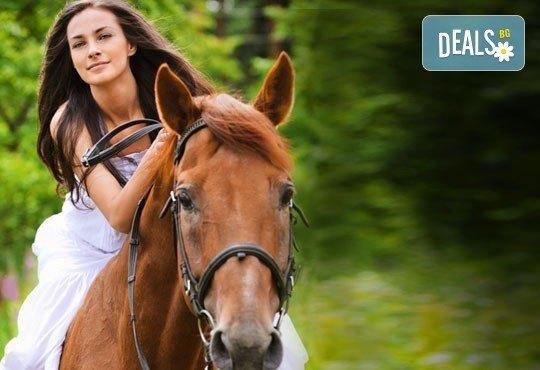 Подарете си различно преживяване с 45 минути конна езда с водач или урок с инструктор от конна база София – Юг, Драгалевци - Снимка 3