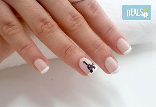 За красиви ръце! Маникюр с Роза Дамасцена и гел лак SNB от Point nails! - Снимка 8