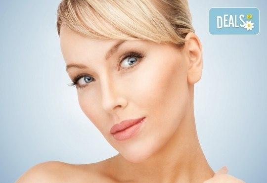 Подмладете кожата си! Радиочестотен лифтинг на лице и шия с ботокс ефект, маска с чист колаген и криотерапия в салон АБ! - Снимка 1