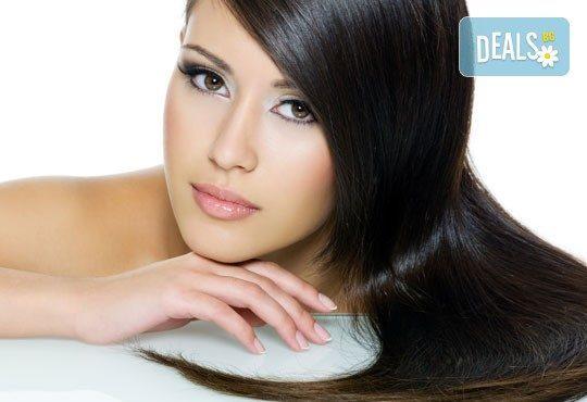 За блестяща и жива коса! Кератинова терапия за коса на Hipertin-Pure Keratin от Дерматокозметични центрове Енигма! - Снимка 1