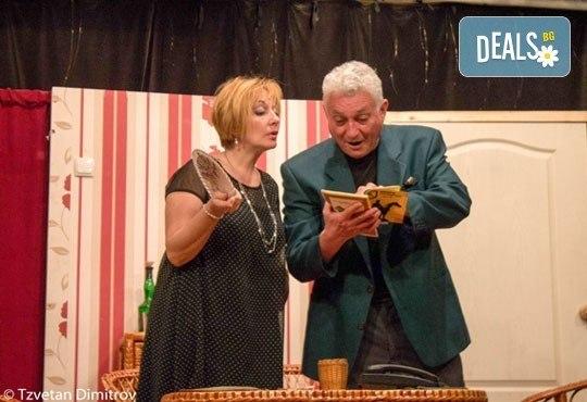 Любими актьори в щурата комедия Луда нощ по френски, на 08.05. от 19ч, в Театър Сълза и Смях! билет за един - Снимка 4