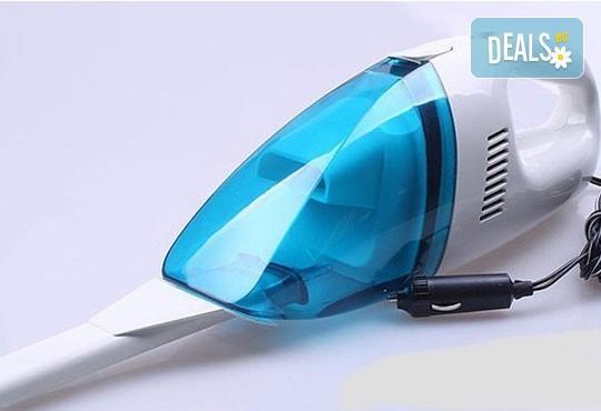 Погрижете се за автомобила си! Компактна портативна прахосмукачка High-Power Vacuum Cleaner Portable от Магнифико Трейд! - Снимка 2