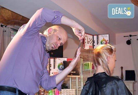 Добавете свежи нюанси в косата! Боядисване с професионална боя, маска и оформяне на косата със сешоар от СПА студио Кадифе! - Снимка 5