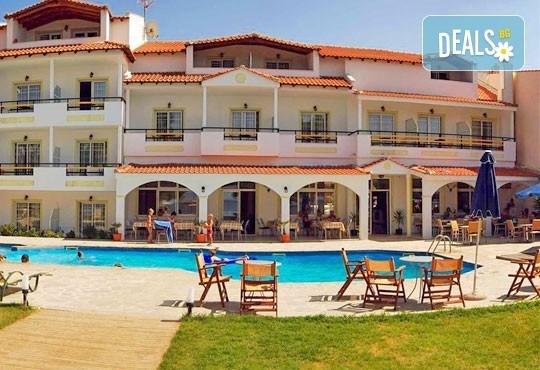 Почивка на остров Тасос, Гърция ! 4/5 нощувки, All Inclusive в Rachoni Hotel 3*, безплатно за дете до 2 г.! - Снимка 1