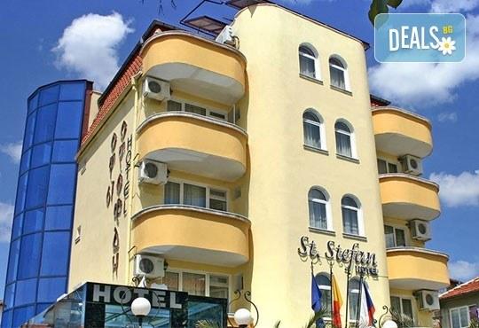 Цяло лято в Приморско! 1 нощувка на база All inclusive в хотел Свети Стефан 2*, безплатно за дете до 1.99 г. - Снимка 1