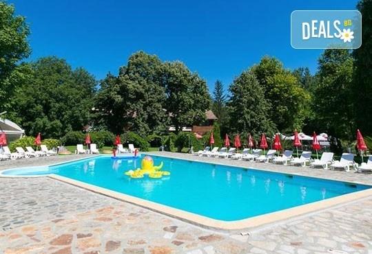 Почивка със семейството! Нощувка със закуска и ползване на открит басейн, детски кът, фитнес в Комплекс Фазанария до Пазарджик - Снимка 9