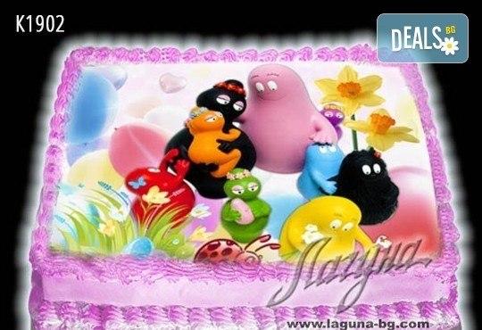 Великденска еклерова торта с пухкави пандишпанови блатове и пълнеж по избор за Вашата цветна празнична трапеза от Виенски салон Лагуна! Предплатете сега - Снимка 5