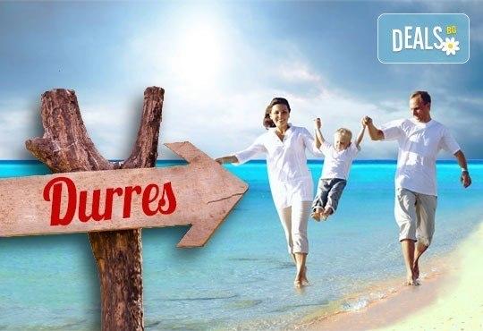 На море в Албания през май или юни! 5 нощувки със закуски и вечери в Дуръс, транспорт и посещение на Елбасан! - Снимка 1