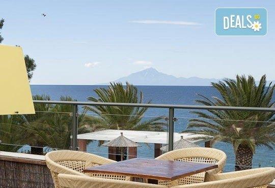 През май почивайте в Alexandra Beach Spa Resort 4* на o. Tасос, Гърция! 3/5 нощувки със закуски и вечери, безплатно за дете до 12.99г. - Снимка 3