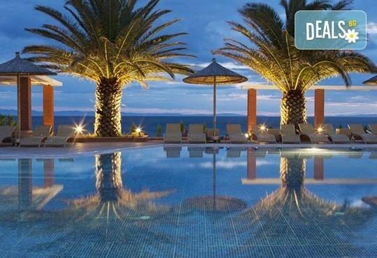 През май почивайте в Alexandra Beach Spa Resort 4* на o. Tасос, Гърция! 3/5 нощувки със закуски и вечери, безплатно за дете до 12.99г. - Снимка 14