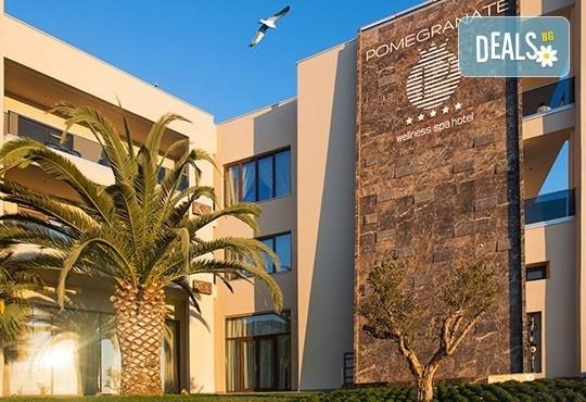 През май в Pomegranate & SPA Hotel 5*, Касандра, Гърция! 3 или 5 нощувки със закуски и вечери, безплатно за дете до 12г.! - Снимка 5