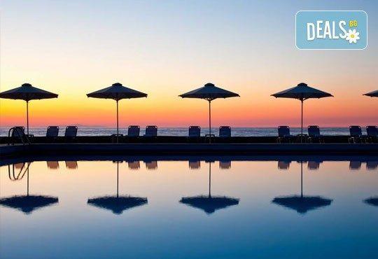 Почивка на остров Тасос, Гърция ! 5 нощувки със закуски и вечери в Makryammos Bungalows 4*, безплатно за дете до 12 г.! - Снимка 1
