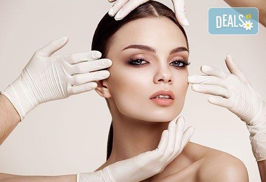 Дълбоко почистване на лице с козметика на Глори и оформяне и боядисване на вежди в салон за красота Мелани! - Снимка 1