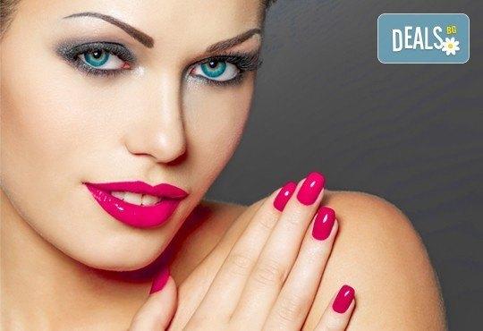 Изящни ръце с класически или френски маникюр по избор, гел лак Bluesky или S&A в салон Виктория! - Снимка 2