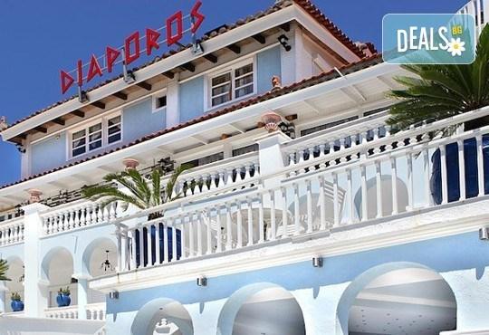 Почивайте през юни и септември в хотел Diaporos 3*, Халкидики, Гърция! 3/5/7 нощувки със закуски и вечери! - Снимка 4