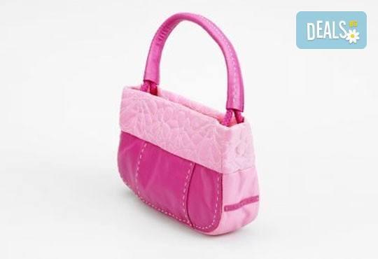 Бъдете стилни и неповторими с оригинална розова чанта Sisley - вертикална или хоризонтална + безплатна доставка! - Снимка 1