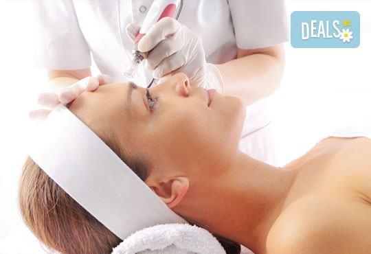 Безиглена мезотерапия на цяло лице и околоочен контур според нуждите на кожата и криотерапия в салон за красота АБ! - Снимка 1