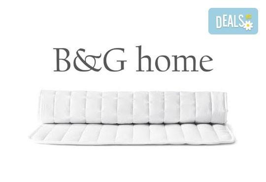 Идеален избор за хора с алергии! Протектор за единичен или двоен матрак от B&G Home! - Снимка 2