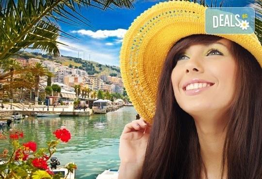 Екскурзия с нощен преход до Дуръс, Албания през май или септември! 3 нощувки със закуски, обяди и вечери, транспорт и пешеходен тур на Скопие! - Снимка 1