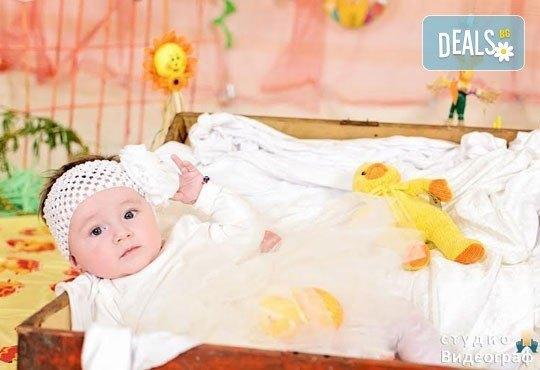 Професионална детска/семейна студийна фотосесия на пролетно-великденска тематика в студио Видеограф, Кюстендил! - Снимка 8