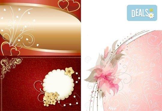 Направете празника си специален! Индивидуален дизайн, ръчна изработка и надписване на покани от Magic Print - Снимка 7