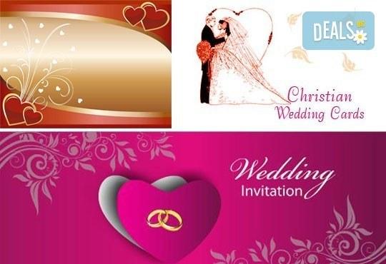 Направете празника си специален! Индивидуален дизайн, ръчна изработка и надписване на покани от Magic Print - Снимка 11
