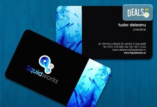 Дизайн на фирмена идентичност: фирмено лого, визитни картички, клубни клиентски карти от Magic Print! - Снимка 4