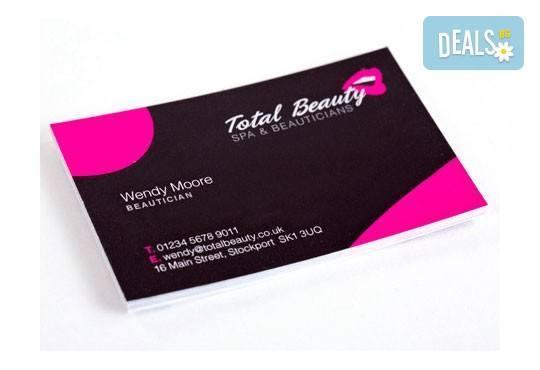 Дизайн на фирмена идентичност: фирмено лого, визитни картички, клубни клиентски карти от Magic Print! - Снимка 7