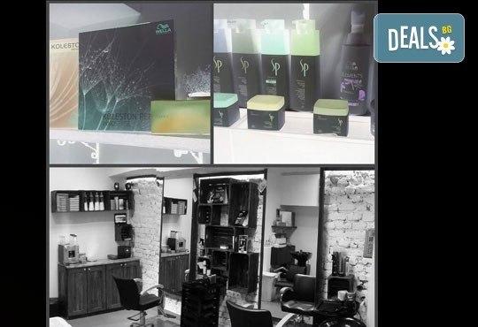 Майсторско подстригване от стилисти Боби Ярчев и Маги Андреева и терапия с L'Oreal в BM Hair Studio - Снимка 6
