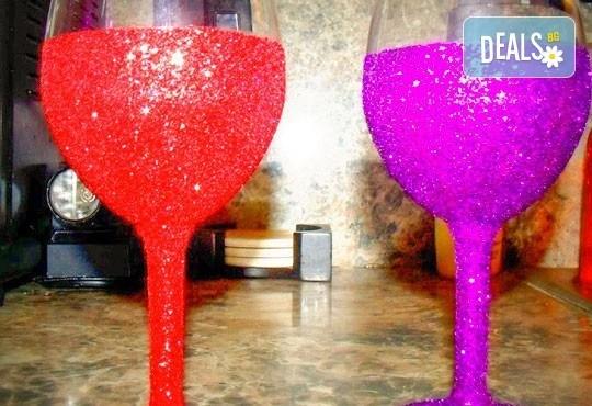 Поднесете питието подобаващо! Чаша за вино, шампанско или шот Блясък от Magic Print - Снимка 4
