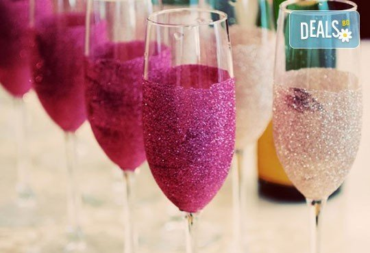 Поднесете питието подобаващо! Чаша за вино, шампанско или шот Блясък от Magic Print - Снимка 6