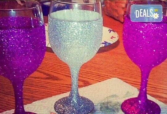 Поднесете питието подобаващо! Чаша за вино, шампанско или шот Блясък от Magic Print - Снимка 7
