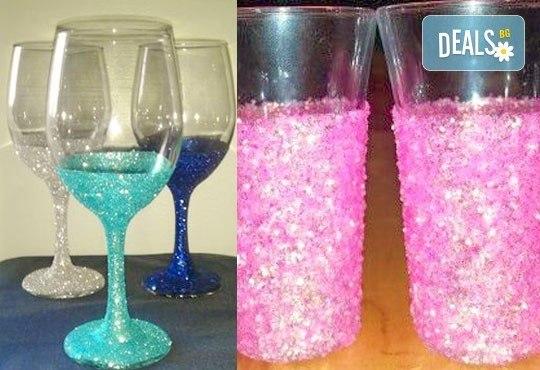 Поднесете питието подобаващо! Чаша за вино, шампанско или шот Блясък от Magic Print - Снимка 9