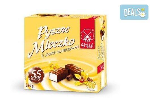 Десерт за кафе и чай! Възхитителни бонбони Птиче мляко - конфети с вкус на сметана и ванилия, покрити с висококачествен шоколад! - Снимка 2