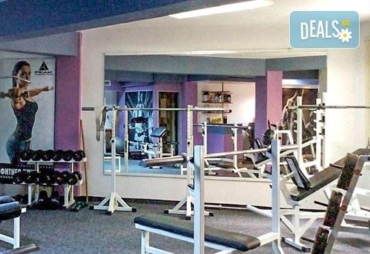 Здрав дух в здраво тяло! 6 фитнес тренировки за един месец от Спортен клуб по културизъм Алпина! - Снимка 5