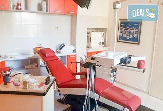 Почистване на зъбен камък, полиране и 2 фотополимерни пломби от Д-р Тихола Захариева - лекар по дентална медицина, Варна - Снимка 2