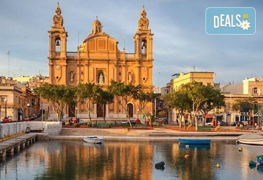 В Малта през май с Лале Тур - потвърдено пътуване! 4 нощувки и закуски в Oriana at the Topaz 4*, самолетен билет, летищни такси и трансфери! - Снимка 3