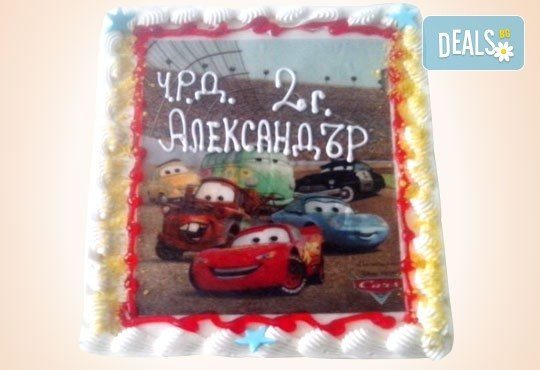 Детски рожден ден с торта, сладки, сок, сандвичи и аниматор на супер цена в новата Сладкарница Орхидея - Снимка 8