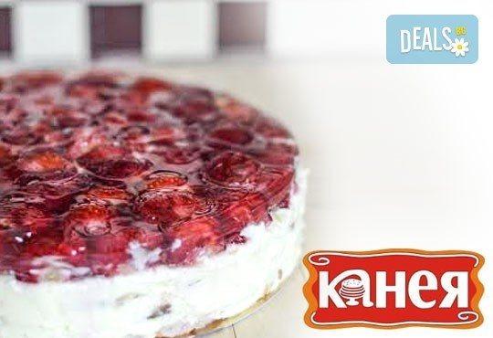 Вкусно изкушение за малки и големи! Уникална плодова или ягодова торта, от Канея - Снимка 2