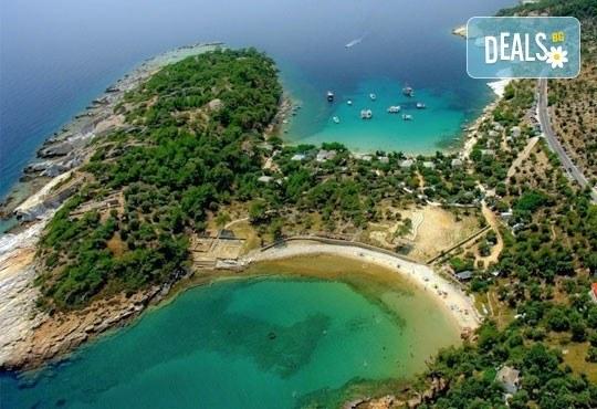 Лятна екскурзия до о. Тасос - зеления рай на Гърция! 2 нощувки със закуски в хотел 2/3*, транспорт и турове до Кавала и Солун! - Снимка 8