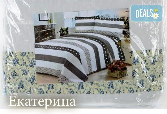 Създайте уютна и стилна атмосфера в спалнята с луксозно шалте или покривка за легло от SPALNOBELIO.BG! - Снимка 3